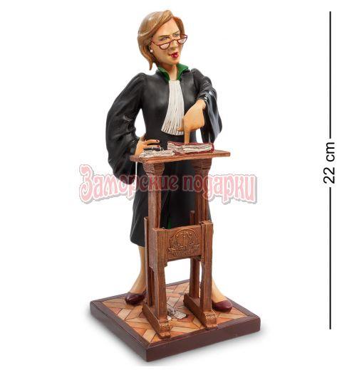 "FO-84011 Статуэтка мал. ""Адвокат"" (The Lady Lawyer. Forchino)"