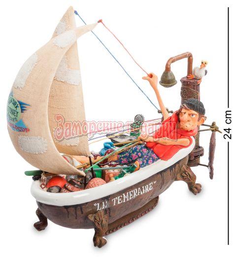 "FO-85077 Яхта ""Вокруг света"" (Ship Ahoy. Forchino)"