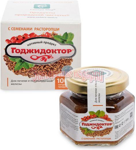 """MED-08/13 """"Годжидоктор"""" Экстракт плодово-ягодный с корнем подсолнечника, 100 г"""