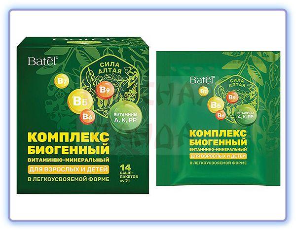 Сила Алтая комплекс биогенный витаминно-минеральный для взрослых и детей