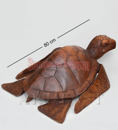 "15-039 Статуэтка ""Морская черепаха""  80 см суар"