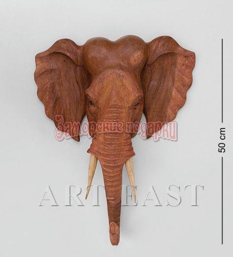 """15-053 Панно """"Индийский слон"""" 50 см суар"""