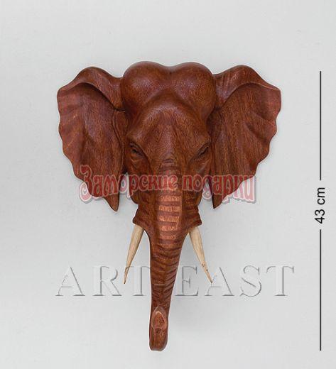 """15-054 Панно """"Индийский слон"""" 40 см суар"""