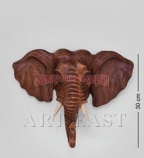 """15-055 Панно """"Индийский слон"""" 30 см суар"""