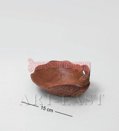 "15-067 Блюдо ""Черепаха"" 15 см суар"