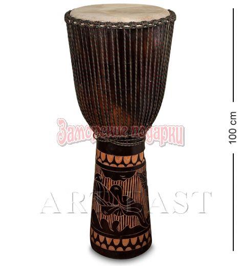 55-001 Барабан Джембе резной 100 см