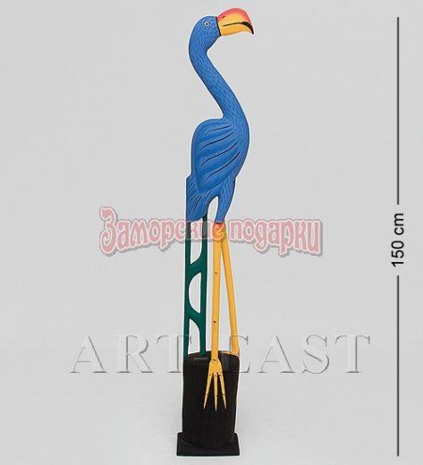 """90-007 Статуэтка """"Голубой Фламинго"""" 150 см"""