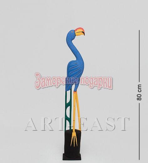 """90-010 Статуэтка """"Голубой Фламинго"""" 80 см"""