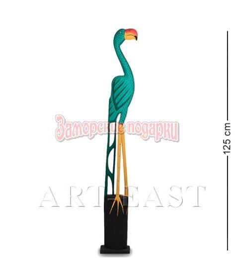 "90-020 Статуэтка ""Зеленый Фламинго"" 125 см"