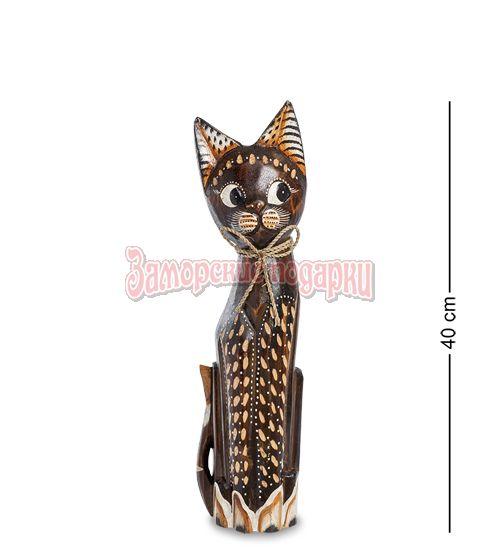 """99-092 Статуэтка """"Кошка"""" 40 см (албезия, о.Бали)"""