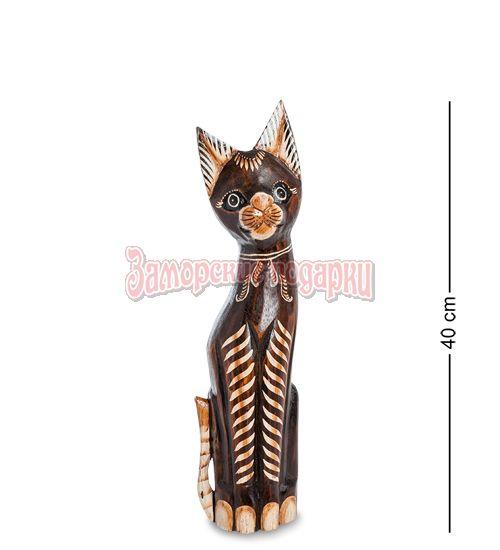"""99-244 Статуэтка """"Кошка"""" 40 см (албезия, о.Бали)"""