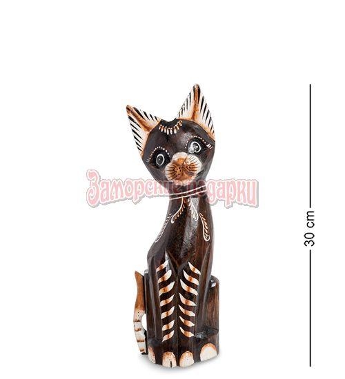 """99-245 Статуэтка """"Кошка"""" 30 см (албезия, о.Бали)"""