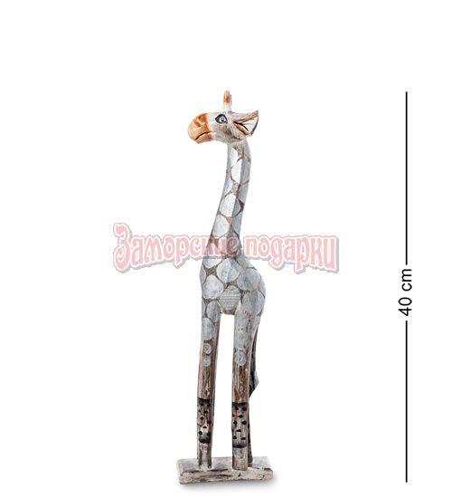 """99-401 Статуэтка """"Жираф"""" 40 см (албезия, о.Бали)"""