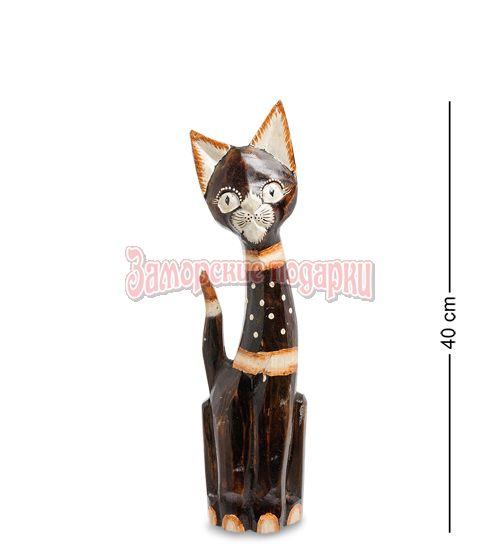 """99-148 Статуэтка """"Кошка"""" 40 см (албезия, о.Бали)"""