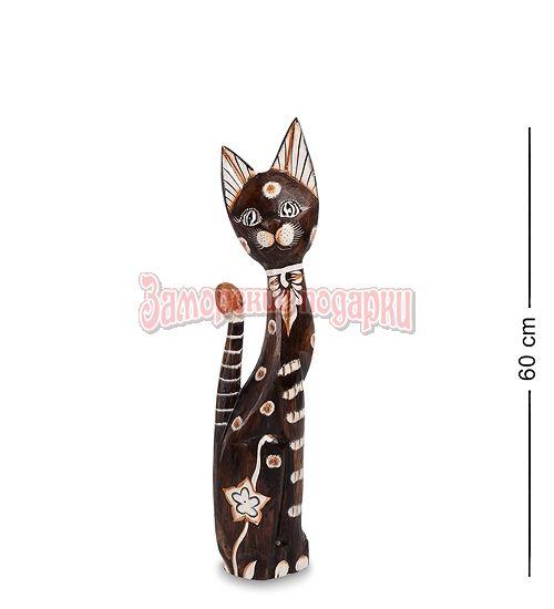 """99-139 Статуэтка """"Кошка"""" 60 см (албезия, о.Бали)"""