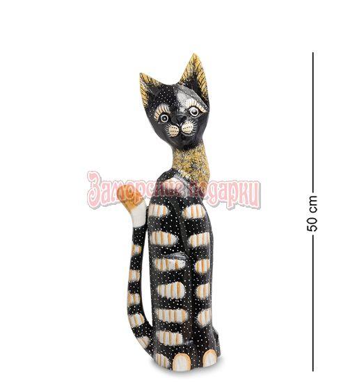 """99-119 Статуэтка """"Кошка"""" 50 см (албезия, о.Бали)"""
