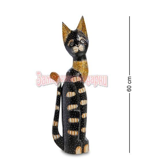 """99-118 Статуэтка """"Кошка"""" 60 см (албезия, о.Бали)"""
