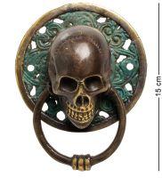 """24-060 Фигура с кольцом """"Череп"""" бронза (о.Бали) большая"""