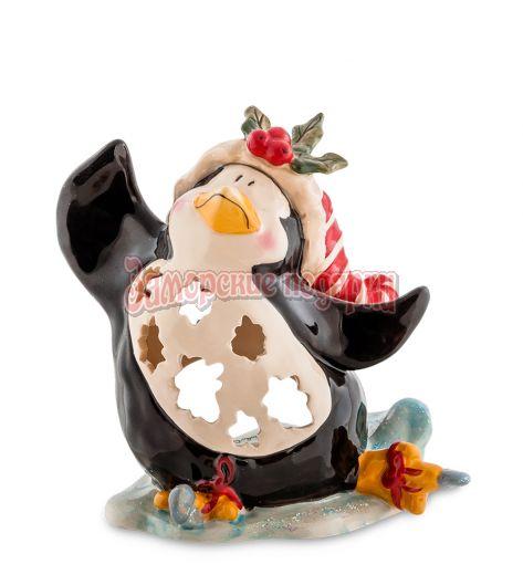 """BS-504 Подсвечник """"Пингвин в танце на льду"""" (Pavone)"""