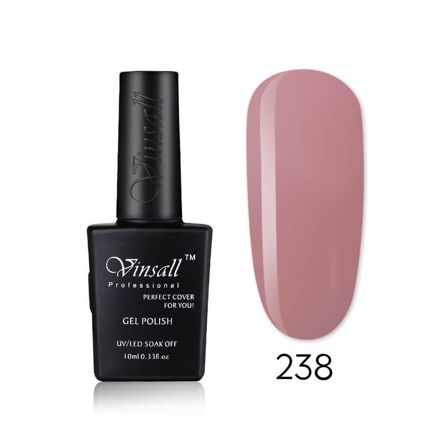 Vinsall Cover pink гель-лак №238, 10 мл