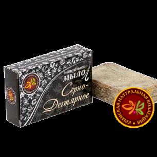 """Натуральное мыло """"Серно-Дегтярное"""" 75г"""