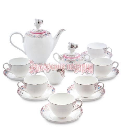 "JK- 01 Чайный сервиз на 6 перс.""Примадонна"" (Pavone)"