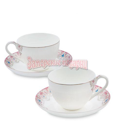 """JK- 04 Чайный набор на 2 перс.""""Каприз Примадонны"""" (Pavone)"""