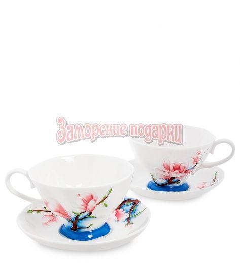"JS-02 Чайный набор на 2 перс. ""Цветущая сакура"" (Pavone)"