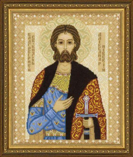 Набор для вышивания крестом Св. Александр Невский №1424 фирма Риолис