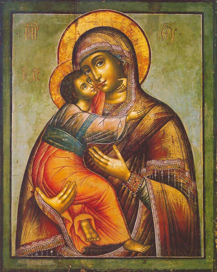 Икона Владимирская Божия Матерь (Ушаков)