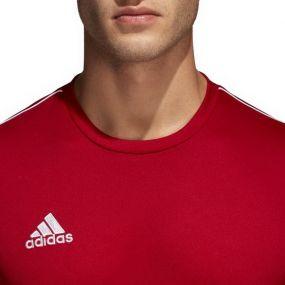 Спортивная футболка для тренировок adidas Core 18 красная