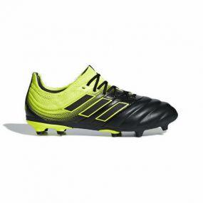 Детские футбольные бутсы adidas Copa 19.1 FG чёрные