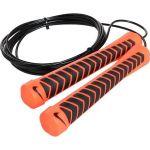 Скакалка Nike Intensity Speed Rope чёрно-оранжевая
