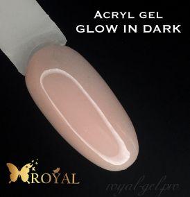 ACRYL GEL GLOW IN DARK ROYAL светится в темноте 50 мл