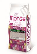 Monge GRAIN FREE Беззерновой корм из мяса буйвола для крупных кошек всех возрастов, 10 кг