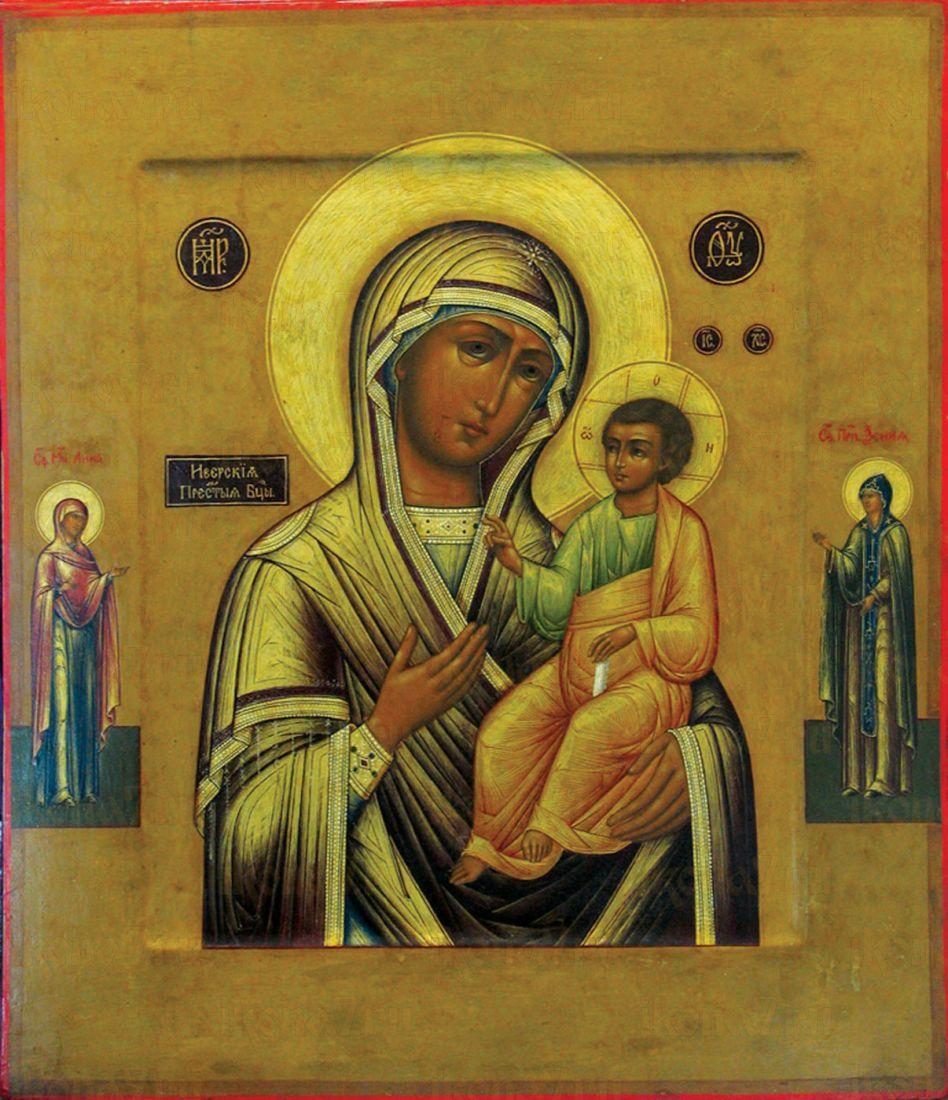 Иверская икона БМ (копия старинной иконы)