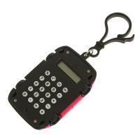 Калькулятор Брелок 8-разрядный Машинка (цвет красный)_2