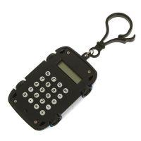 Калькулятор Брелок 8-разрядный Машинка (цвет белый)_2
