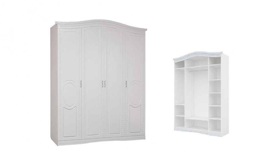 Шкаф четырехдверный Гертруда