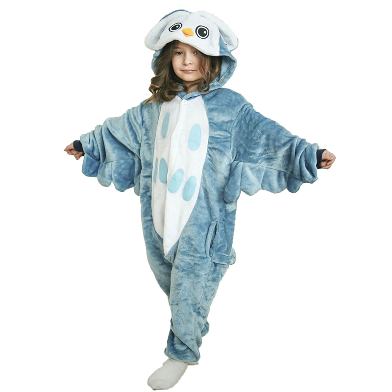 Детская Пижама Кигуруми Сова