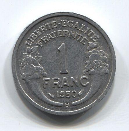 1 франк 1950 года B Франция XF