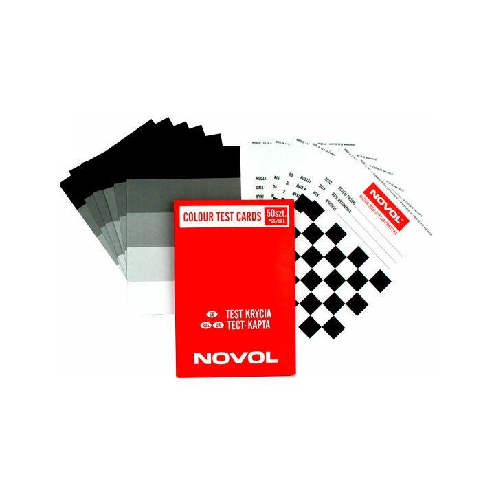 NOVOL Тест-карта, (упаковка 50 шт.)