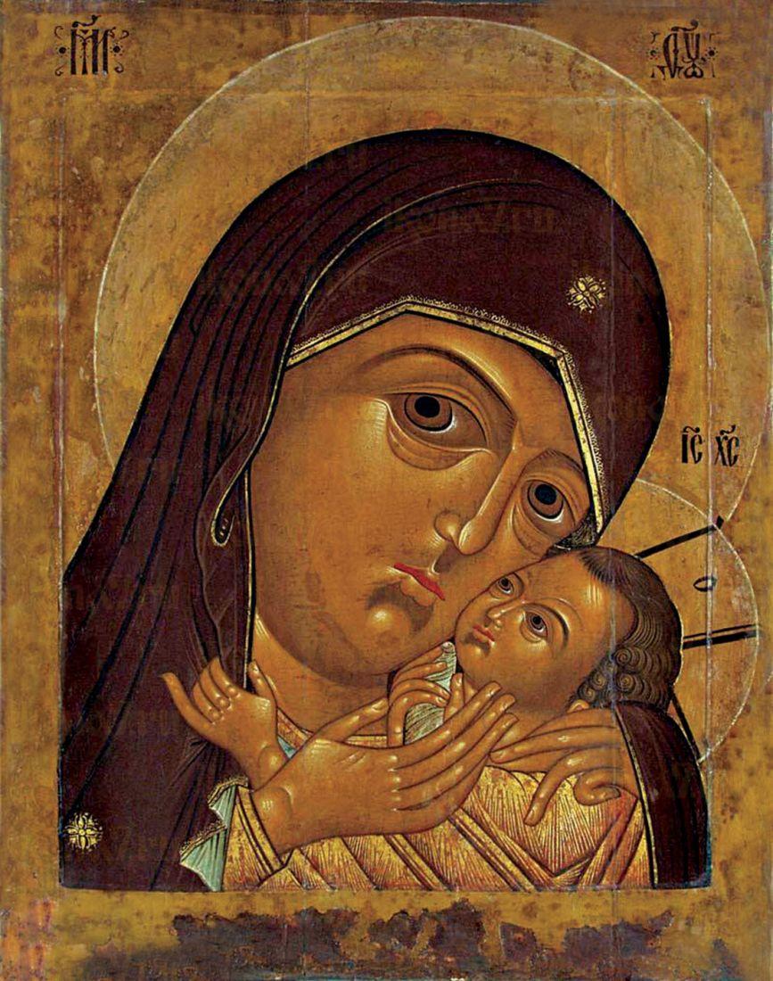 Икона Корсунская Божия Матерь (копия 17 века)