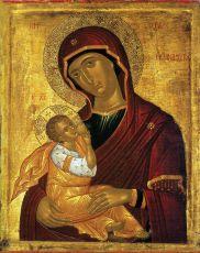 Млекопитательница (15 век) икона Божией Матери