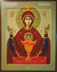Неупиваемая Чаша (копия старинной иконы)