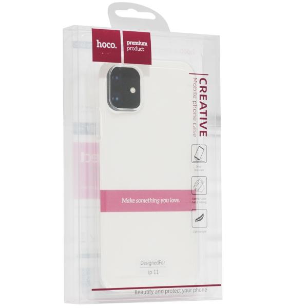 Силиконовый Чехол Hoco iPhone 11 Pro Max Прозрачный