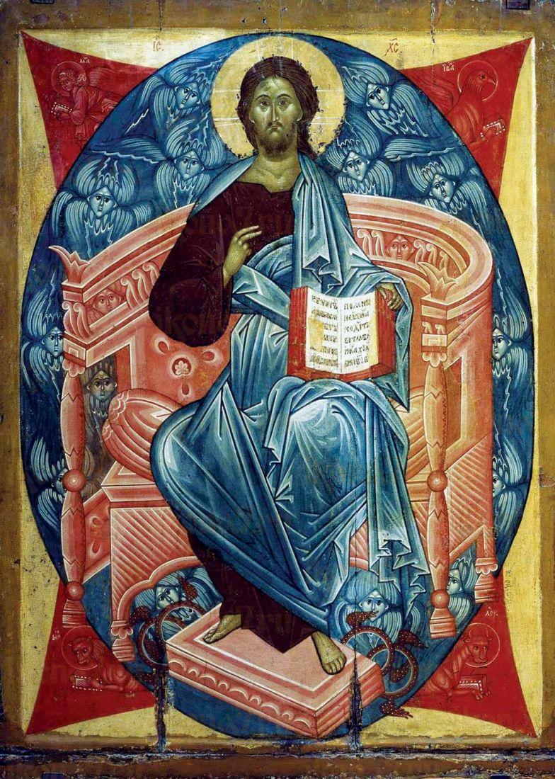 Икона Спас в Силах (копия А.Рублева)