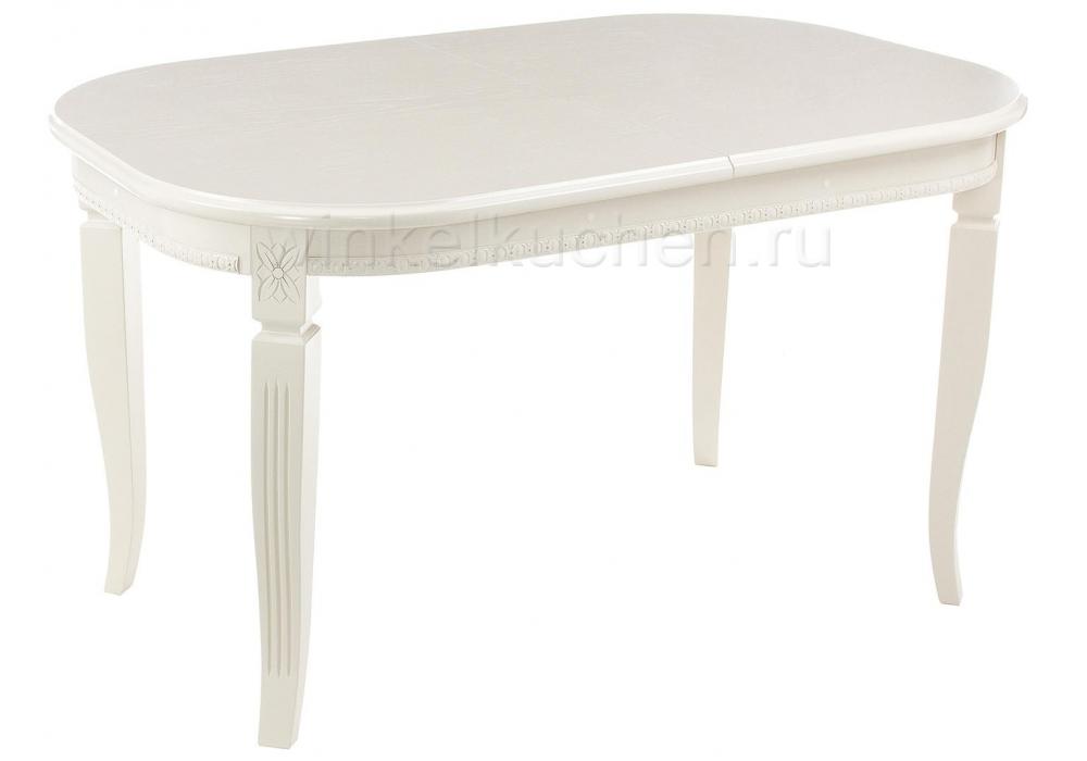 Стол деревянный Стол Romeo молочный без патины