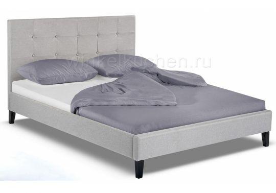 Кровать Veronika 160х200 silver
