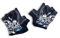 Классические спортивные перчатки полу-палец LongKeeper Черный